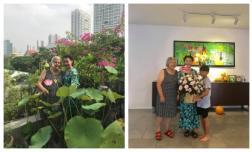 Chưa cưới nhưng quá tình cảm: Gia đình Kim Lý sang tận Việt Nam mừng 20/10 cùng bố mẹ Hà Hồ