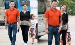 Hoa hậu Jennifer Phạm lộ thân hình phát tướng khá nhiều, nép vội sau chồng khi bị chụp lén ở tháng thứ 7 thai kì