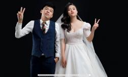 'Diễn viên hài xấu nhất Việt Nam' tung ảnh cưới với bạn gái hot girl xinh đẹp