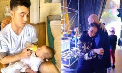 Sao Việt 15/12/2019: Ưng Hoàng Phúc đói chóng mặt vì chăm hai con lúc vợ vắng nhà, Thu Minh làm nũng chồng ở hậu trường sân khấu