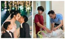 Đàm Thu Trang đã sinh con cho Cường Đô La, công khai luôn hình ảnh đầu tiên của nhóc tỳ