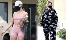 Sau sự cố hằn rõ vùng nhạy cảm 'thảm họa' hơn cả Mai Phương Thúy, bà xã Justin Bieber chuyển sang mặc kín như bưng