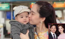 Ông xã Đặng Thu Thảo khoe rõ mặt con trai 6 tháng tuổi: Cậu ấm được khen giống bố như tạc