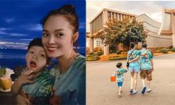 Dương Cẩm Lynh diện áo đôi, tình tứ bên bạn trai giấu mặt khi đi Phú Quốc?
