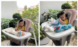 Đàm Thu Trang khoe con gái đọc sách nhưng 2 phút sau lại là hình ảnh hài hước này