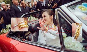Lễ rước dâu giản dị và khiêm tốn nhưng lễ vật nhà Ông Cao Thắng gửi tặng Đông Nhi lại không hề 'nhẹ'