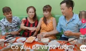 Cuộc gặp gỡ của cô dâu 62 tuổi và cô dâu 65 tuổi bên hai chồng trẻ gây chú ý