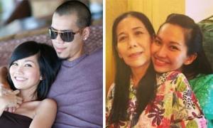 Kim Hiền cảm ơn chồng cũ: 'Cám ơn ba Sonic đã lặng lẽ cạnh mẹ vợ cả 2 ngày và đưa mẹ em đi'