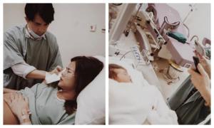 Đông Nhi đăng loạt ảnh hiếm hoi trong phòng sinh, dung mạo con gái được hé lộ
