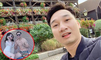 Gần nửa tháng đi Anh về, MC Thành Trung bị vợ dọa dẫm vì lý do này