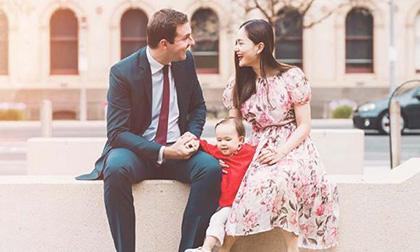 Dự đám cưới em họ ở Úc, Lan Phương cùng con gái khoe sắc rực rỡ