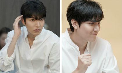 Lee Min Ho hóa soái ca sơ mi trắng khiến chị em điên đảo