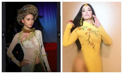 Chỉ trích Kacey Musgraves, Ngô Thanh Vân bị dân mạng moi lại ảnh diện quốc phục 'kinh dị' không kém