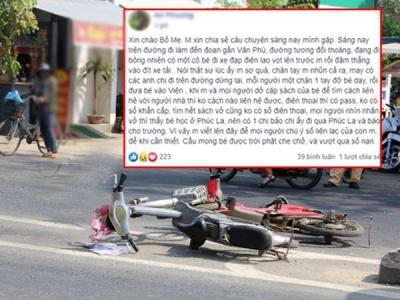 Bé gái bị xe tông bất tỉnh nhưng người đi đường không gọi được bố mẹ vì điện thoại có pass: Cần làm gì để giữ liên lạc với con trong tình huống khẩn cấp?