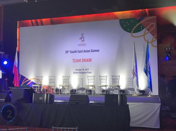 Kết quả bốc thăm bóng đá Nam SEA Games 30: Việt Nam cùng bảng Thái Lan - 3