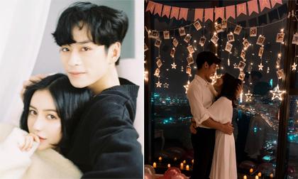 Trang Anna được bạn trai mới tổ chức sinh nhật lãng mạn sau khi bị nam diễn viên 'Mắt biếc' phụ tình