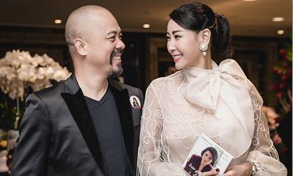 NTK Đức Hùng bảnh bao hội ngộ Hoa hậu Hà Kiều Anh tại sự kiện
