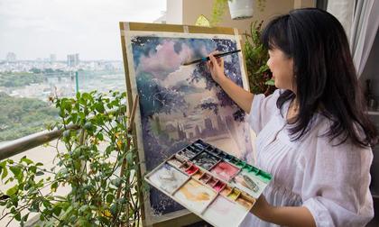 Lan Phương: Con thuyền ngược dòng tìm về với hội họa