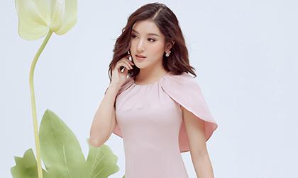 Huyền My thanh lịch ngọt ngào với bộ ảnh nhân ngày Phụ nữ Việt Nam