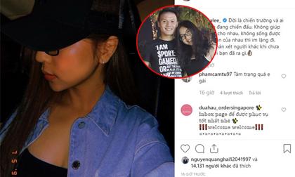 Quang Hải - Nhật Lê 'nối lại tình xưa' sau 3 tháng không tương tác trên mạng xã hội