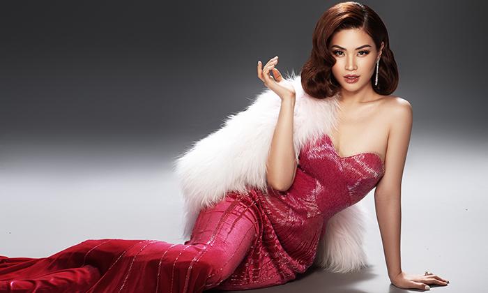 Á hậu Diễm Trang mặn mà, quyến rũ khó cưỡng với style cổ điển