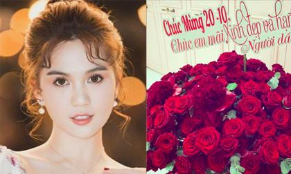 Tặng quà cho bạn gái ngày 20/10 cực lãng mạn, người yêu Ngọc Trinh bị chê cười vì sai lỗi chính tả cơ bản