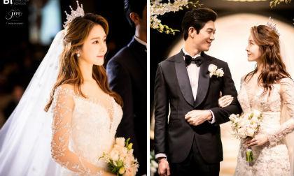 Công khai 'ăn cơm trước kẻng', cựu thành viên T-ara có đám cưới đẹp như trong truyện cổ tích