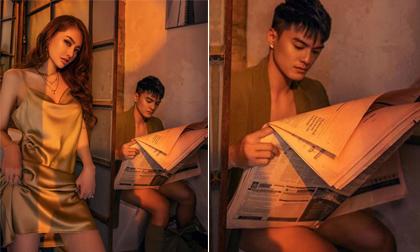 Chụp bao nhiêu ảnh đẹp với Linh Chi không đăng, Lâm Vinh Hải lại lầy lội chia sẻ khoảnh khắc ngồi trong toilet