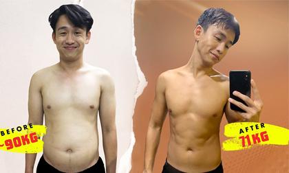 'Gầy sọp' 20kg MC Quang Bảo thay đổi diện mạo chóng mặt sau quãng thời gian bỏ bê bản thân