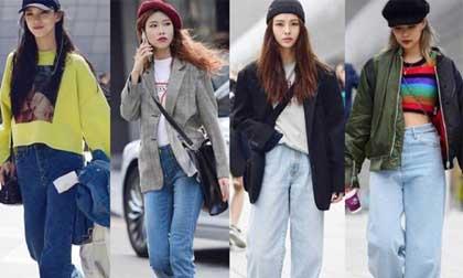 Diện quần jeans mùa thu đông: Sẽ cực đẹp và khí chất thời trang nếu mix theo cách này