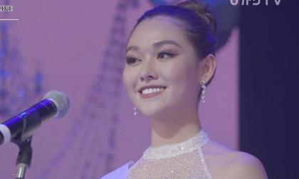 Tường San diễn thuyết bằng tiếng Anh ấn tượng tại Miss International 2019