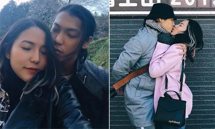 Chuyến du lịch Nhật Bản ngọt ngào, ngập cảnh ôm hôn của Lý Phương Châu và Hiền Sến