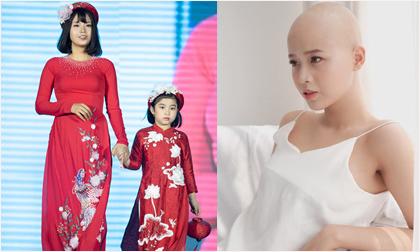 Nữ sinh ung thư nổi tiếng trường Ngoại thương diễn áo dài cho Hoa hậu Ngọc Hân