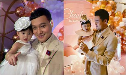 Tiệc sinh nhật đầu tiên hoành tráng của cháu gái Quang Vinh