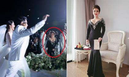 Việt Hương giải thích về bộ trang phục 'hơi quá' ở đám cưới Đông Nhi - Ông Cao Thắng