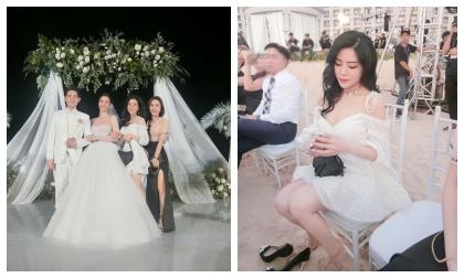 Em gái Ông Cao Thắng lấn át cả dàn mĩ nhân Việt với những khoảnh khắc 'đẹp bất chấp' tại đám cưới anh trai