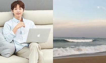 Song Joong Ki lộ diện trẻ trung sau ly hôn, Song Hye Kyo lập tức có phản ứng lạ
