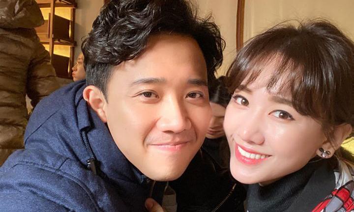 Vợ chồng Trấn Thành - Hari Won khoe ảnh đi ăn, fan phán ngay: 'Hèn chi mập'