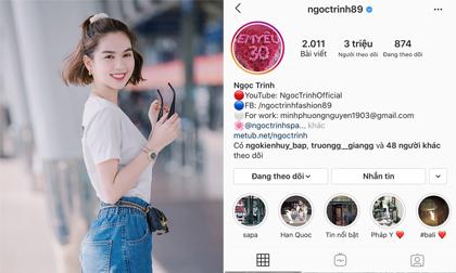 Chạm ngưỡng 3 triệu follower, chỉ sau Sơn Tùng và Chi Pu trên Instagram, Ngọc Trinh hạnh phúc: 'Ai tát vô mặt tui cái đi'