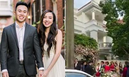 Hậu đám cưới, hot girl Mie vô tình để lộ căn biệt thự hoành tráng nhà thông gia