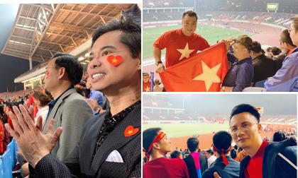 Loạt sao Việt đến sân vận động Mỹ Đình xem trận Việt Nam - UAE