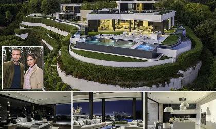 Độ hoành tráng của biệt thự trên đỉnh đồi nơi gia đình David Beckham thuê với giá gần 600 triệu/ tháng