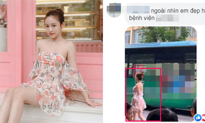 Hot girl Thúy Vi mặc đồ mỏng manh, bất chấp thời tiết lạnh ở Hà Nội