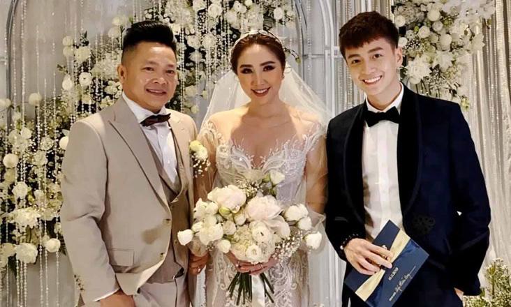 Đám cưới Bảo Thy: Ngô Kiến Huy bảnh bao đến dự