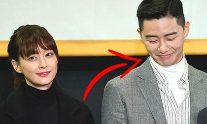 'Phó chủ tịch' Park Seo Joon hóa fan boy e thẹn khi đối mặt với người phụ nữ này