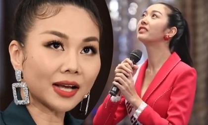 Thúy Vân bật khóc khi bị Thanh Hằng chất vấn tại Hoa hậu Hoàn vũ Việt Nam 2019