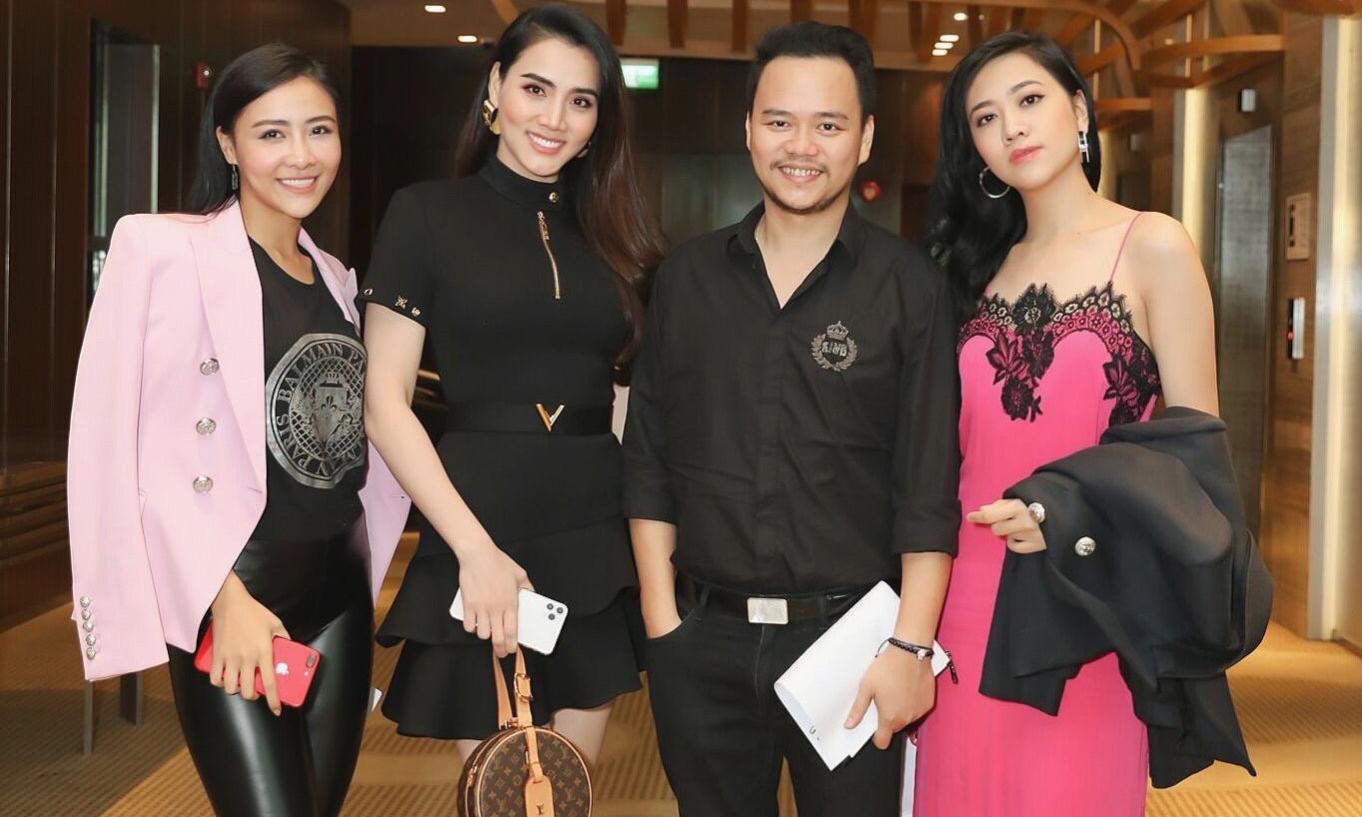 Trang Nhung lại gây thương nhớ với cả cây hàng hiệu sang chảnh, đưa hai cháu gái mĩ nhân đi học diễn xuất