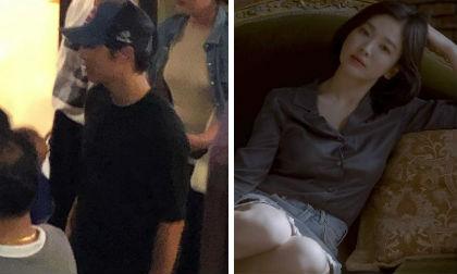 Hình ảnh Song Joong Ki đi Hawaii vừa rò rỉ trên mạng, Song Hye Kyo đã có động thái gây tò mò