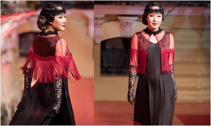 Hoa hậu Ngô Phương Lan lần đầu tiên diễn thời trang, sải bước trên sàn catwalk sau 8 tháng sinh con