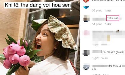 Đăng ảnh nhí nhố bên hoa sen, hot girl Trâm Anh bị anti-fan chửi thẳng: 'Thần kinh'